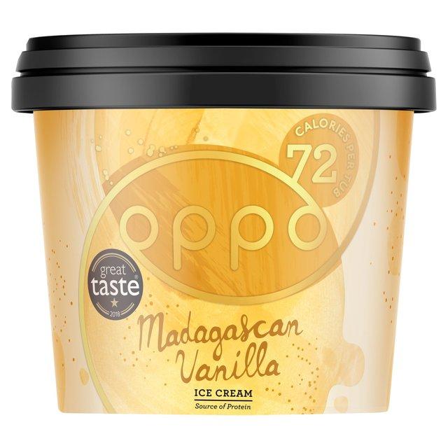 oppo mini tub ice cream madagascan vanilla with baobab