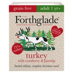 Forthglade Complete Adult Turkey, Cranberry & Parsnip Grain Free Christmas