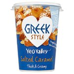 Yeo Valley Organic Greek & Salted Caramel Yogurt