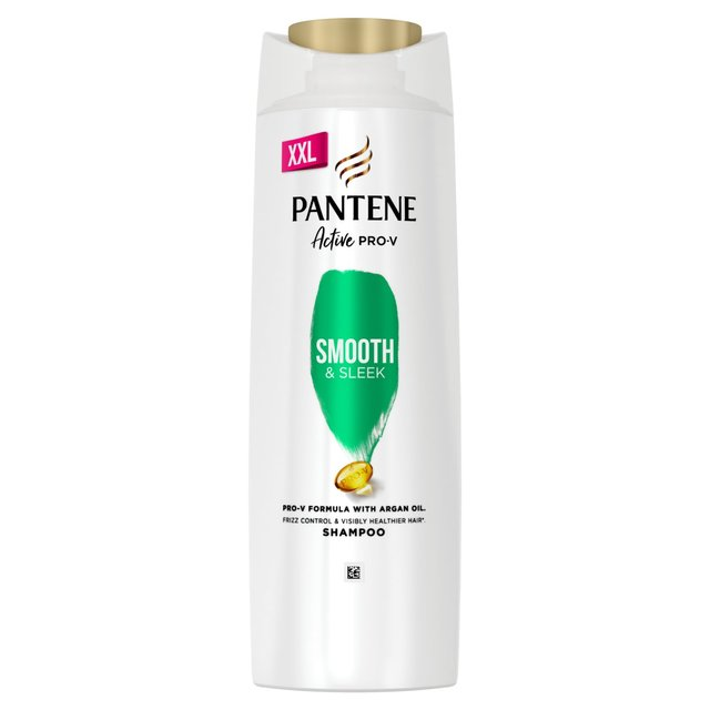 pantene shampoo smooth sleek anti frizz 700ml from ocado. Black Bedroom Furniture Sets. Home Design Ideas