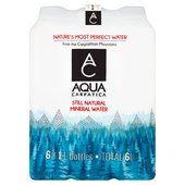 AQUA Carpatica Still Natural Mineral Water  Low Sodium & Nitrates