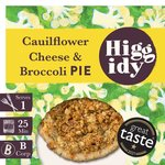 Higgidy Cauliflower Cheese Pie with Oat Crumble