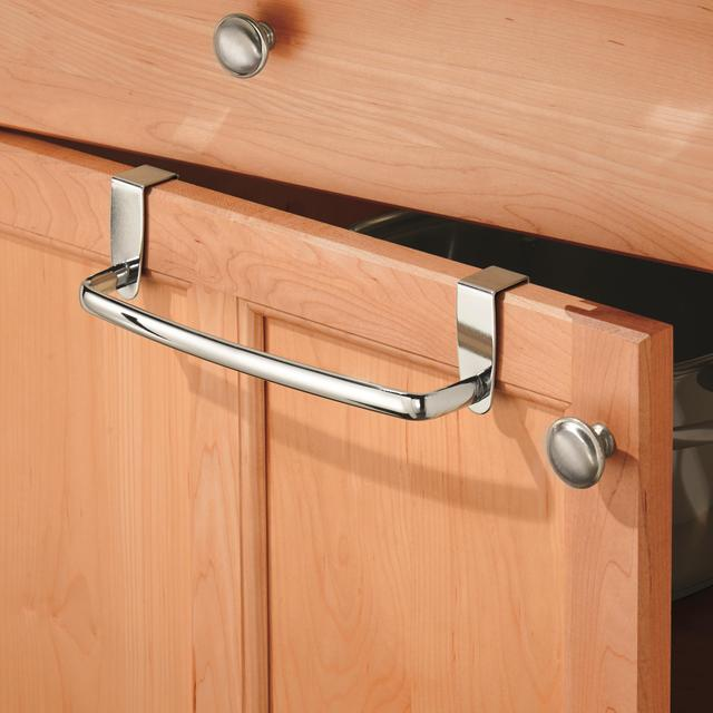InterDesign Axis Chrome Over Cabinet Towel Bar from Ocado