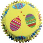 Colourful Easter Eggs Cupcake Cases