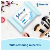 Johnson's Make Up Be Gone MoisturisingWipes