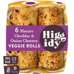 Higgidy Cheese & Onion Sausage Rolls