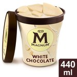 Magnum Tub White Ice Cream