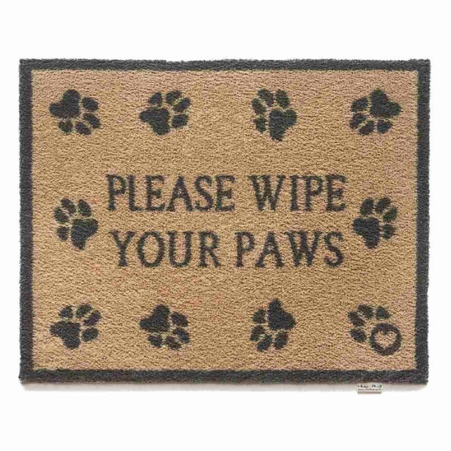 Hug Rug Please Wipe Your Paws Door Mat 65x85cm From Ocado