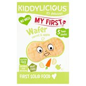 Kiddylicious My First Apple & Carrot Wafer