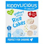 Kiddylicious Yoghurt Splashed Rice Cakes