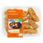 Waitrose Cod Goujons in Salt & Vinegar Breadcrumbs
