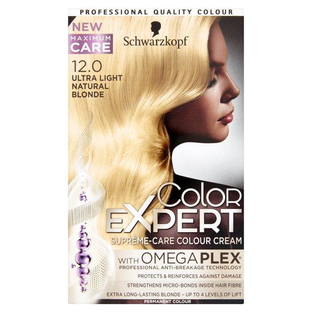 9287b1d087 Schwarzkopf Color Expert 12-0 Ultra Light Natural Blonde Hair Dye from Ocado
