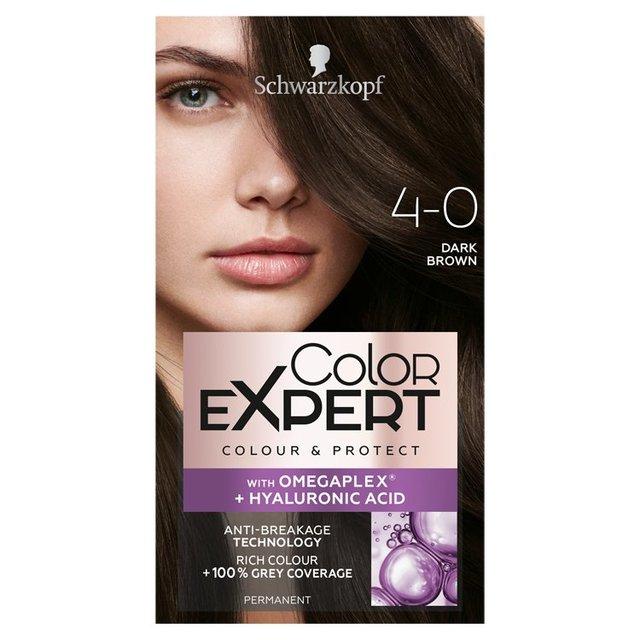 Schwarzkopf Color Expert 40 Dark Brown Hair Dye From Ocado