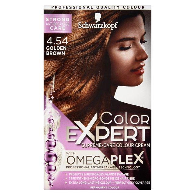 Schwarzkopf Color Expert 4 54 Golden Brown Hair Dye