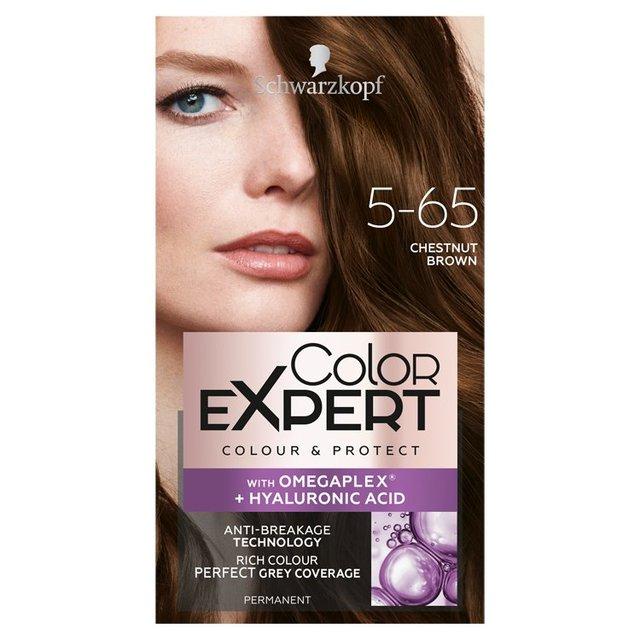 Schwarzkopf Color Expert 5 65 Chestnut Brown Hair Dye From