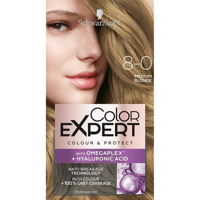 Schwarzkopf Color Expert 8 0 Medium Blonde Hair Dye From Ocado