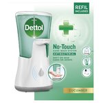 Dettol No Touch Anti-Bacterial Handwash Soap Gadget Cucumber