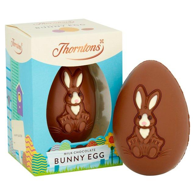 Thorntons Milk Chocolate Bunny Egg