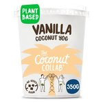 The Coconut Collaborative Dairy Free Vanilla Coconut Yogurt