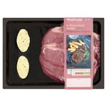 Waitrose British Beef Ribeye Steak with Bearnaise Butter