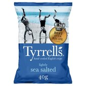 Tyrrells Lightly Sea Salted Potato Crisps