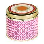 Abahna Frangipani & Orange Blossom Scented Candle Tin