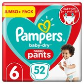 Pampers Baby Dry Pants Size 6 Jumbo Pack
