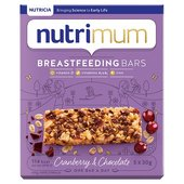 Nutrimum Cranberry & Chocolate Breastfeeding Cereal Bar