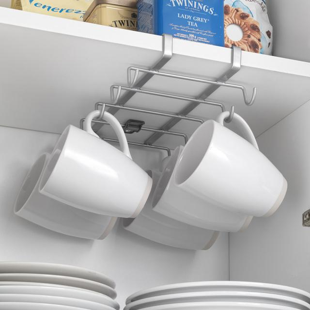metaltex  Metaltex My Mug Under Shelf Cup Holder from Ocado