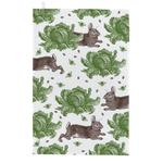 Thornback & Peel Rabbit & Cabbage Tea Towel