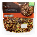 Waitrose Rice, Quinoa & Vegetable Stir Fry