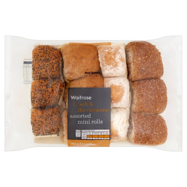 Waitrose Mini Rolls Assorted