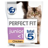 Perfect Fit Junior / Kitten Cat Complete Dry Chicken