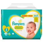 Pampers Premium Protection Nappies Size 3 Jumbo Pack