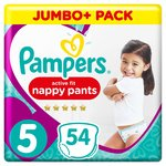 Pampers Active Fit Pants Size 5 Jumbo Pack