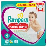 Pampers Active Fit Pants Size 4 Jumbo Pack