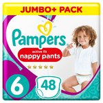 Pampers Active Fit Pants Size 6 Jumbo Pack