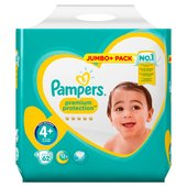 Pampers Premium Protection Nappies Size 4+ Jumbo Pack