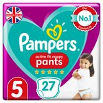 Pampers Active Fit Pants Size 5 Essential Pack