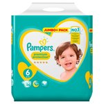 Pampers Premium Protection Nappies Size 6 Jumbo Pack