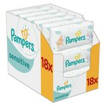 Sensitive Baby Wipes 18 x 56 per pack