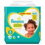 Pampers Premium Protection Nappies Size 5 Jumbo Pack