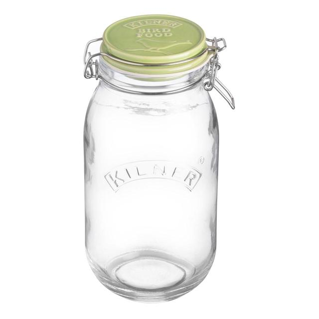 Kilner Ceramic Round Bird Food Jar 2L