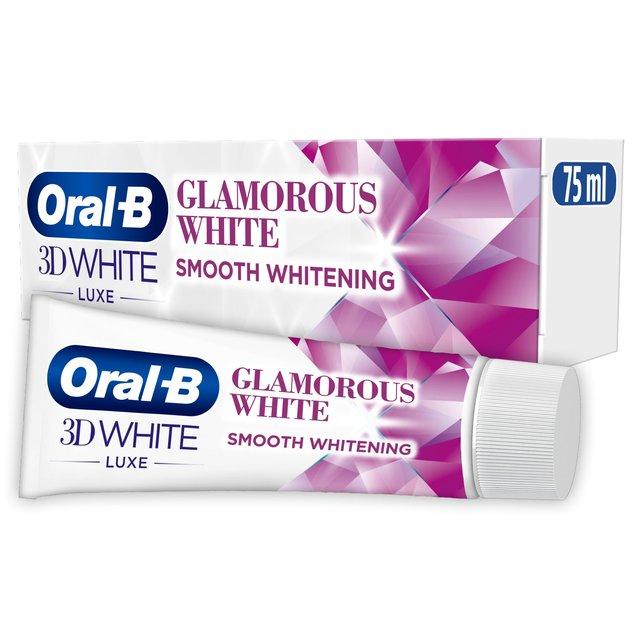 Oral-B 3D White Luxe Glamorous White Toothpaste | Ocado