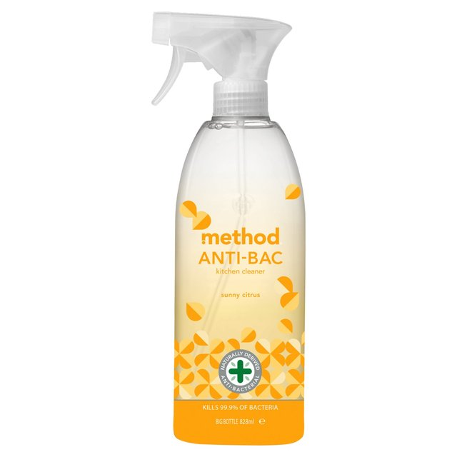 Method Antibacterial Kitchen Cleaner Sunny Citrus ...