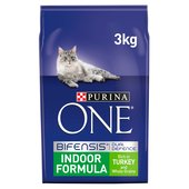 Purina ONE Indoor Adult Turkey & Whole Grain