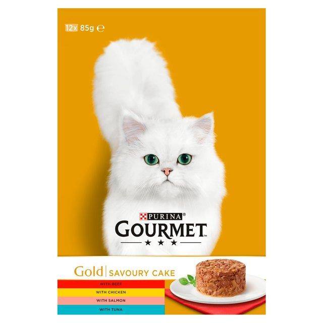 Gourmet Savoury Cake Cat Food