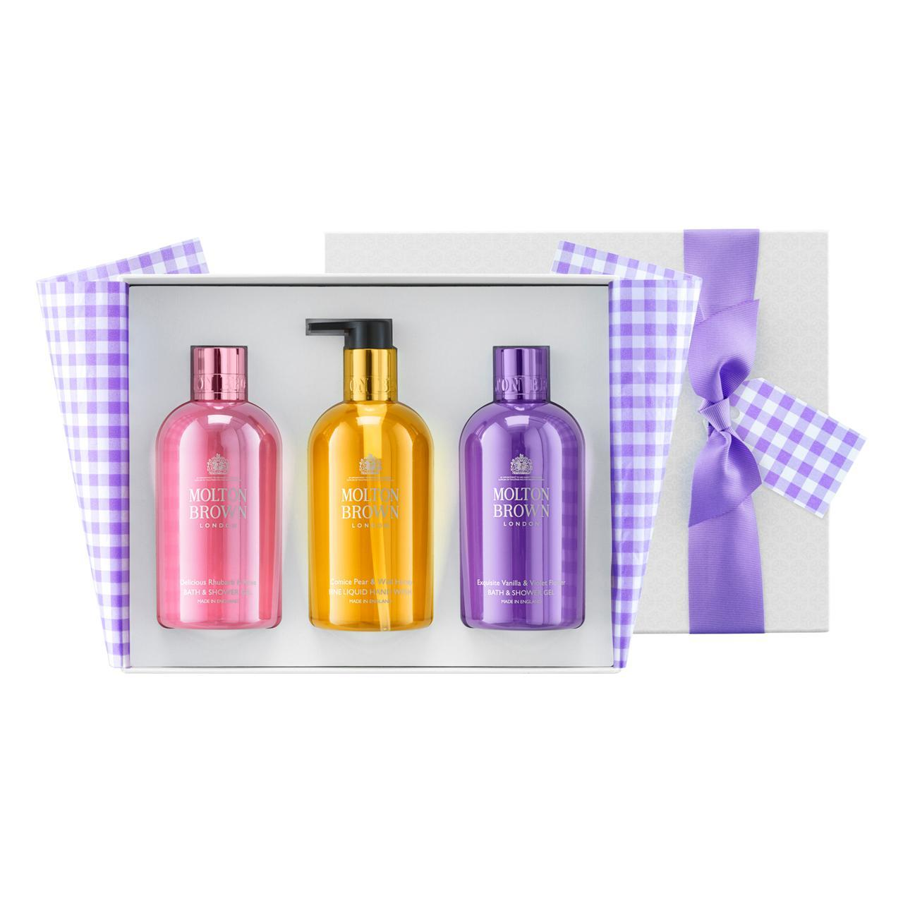 An image of Molton Brown The Perfect Picnic Bathing & Hand Gift Trio