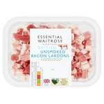 Essential Waitrose English Unsmoked Lardons