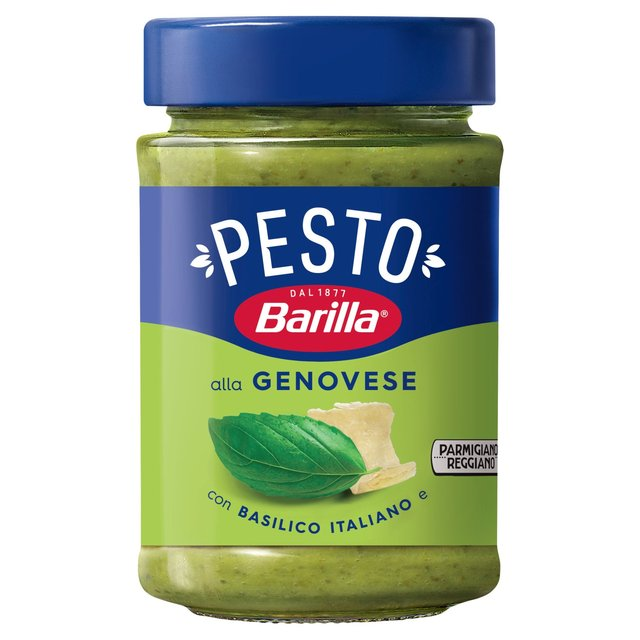 barilla pesto genovese 190g from ocado. Black Bedroom Furniture Sets. Home Design Ideas